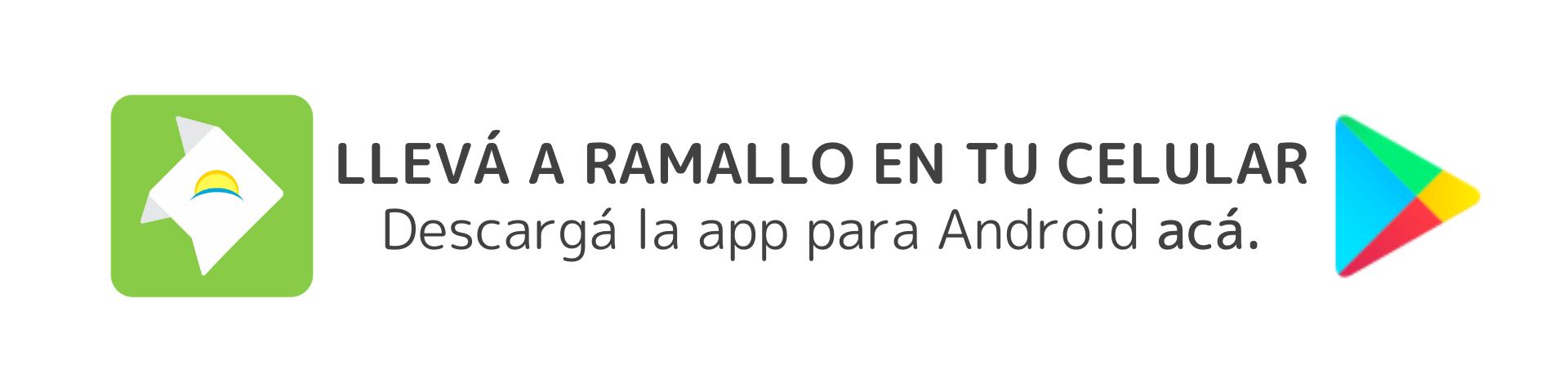 descargá la app de ramallo en tu celular android